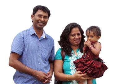 Pst.Dinesh-_-family
